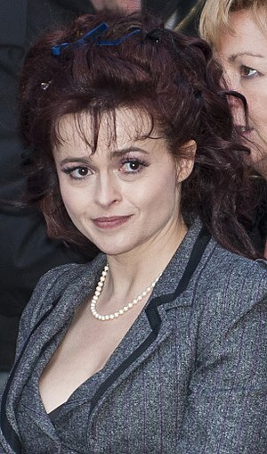Helena Bonham Carter at the press conference o...