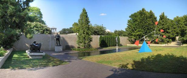 Hirshhorn Museum Sculpture Garden 2007