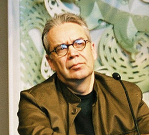 Howard Shore at the Lord of the Rings press co...
