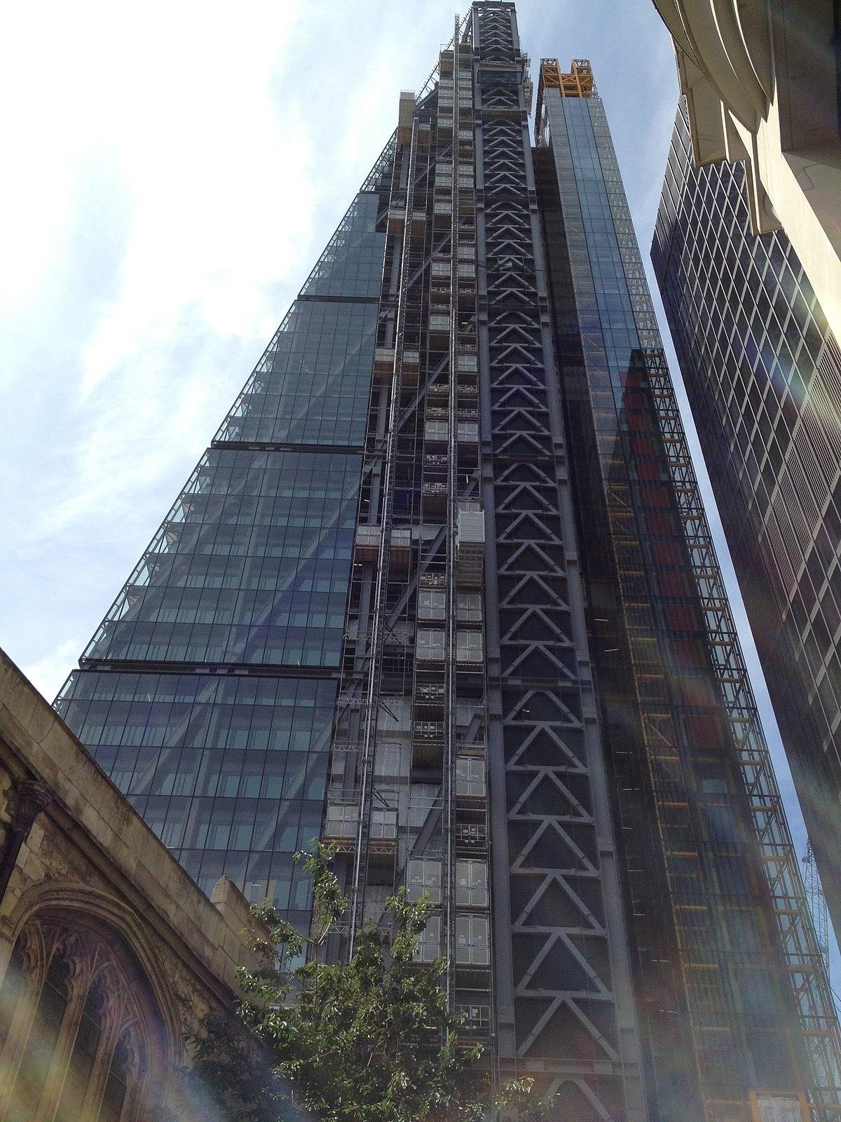 Leadenhall Bygningen Wikipedia