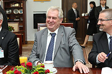 Zeman in the Senate of Poland, 24 May 2013
