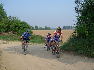 Participants MOUNTAIN BIKE during Mouysarde