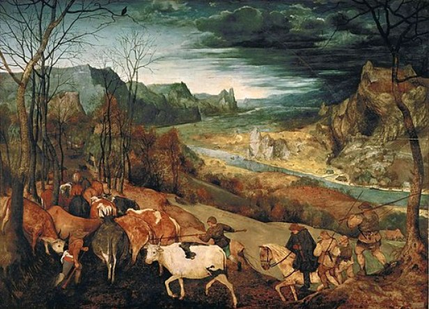 """The Return of the Herd"" by Pieter Bruegel, the Elder"