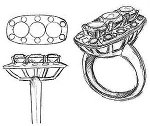 Rendering of Jewelry Design