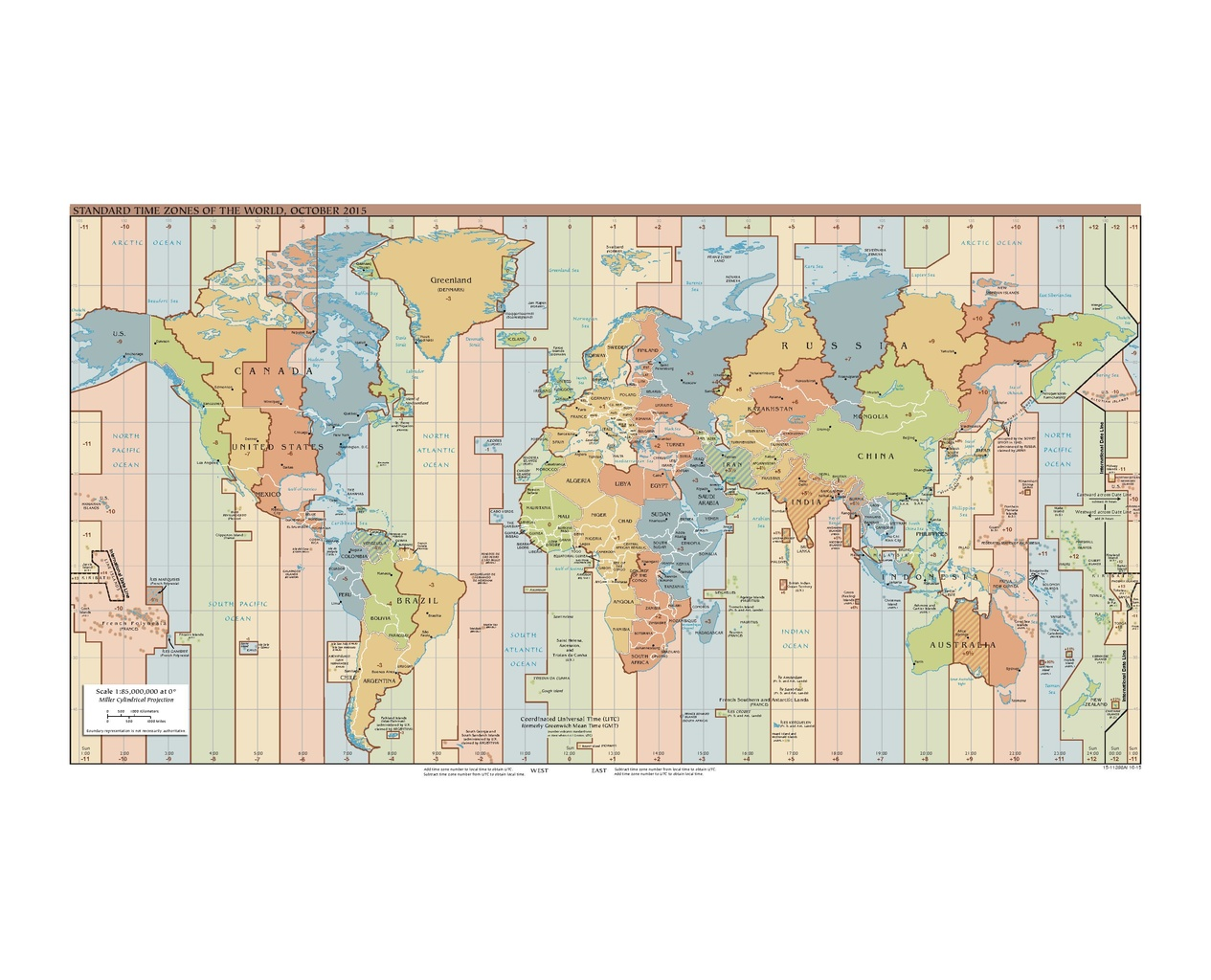 File Standard Time Zones Of The World October