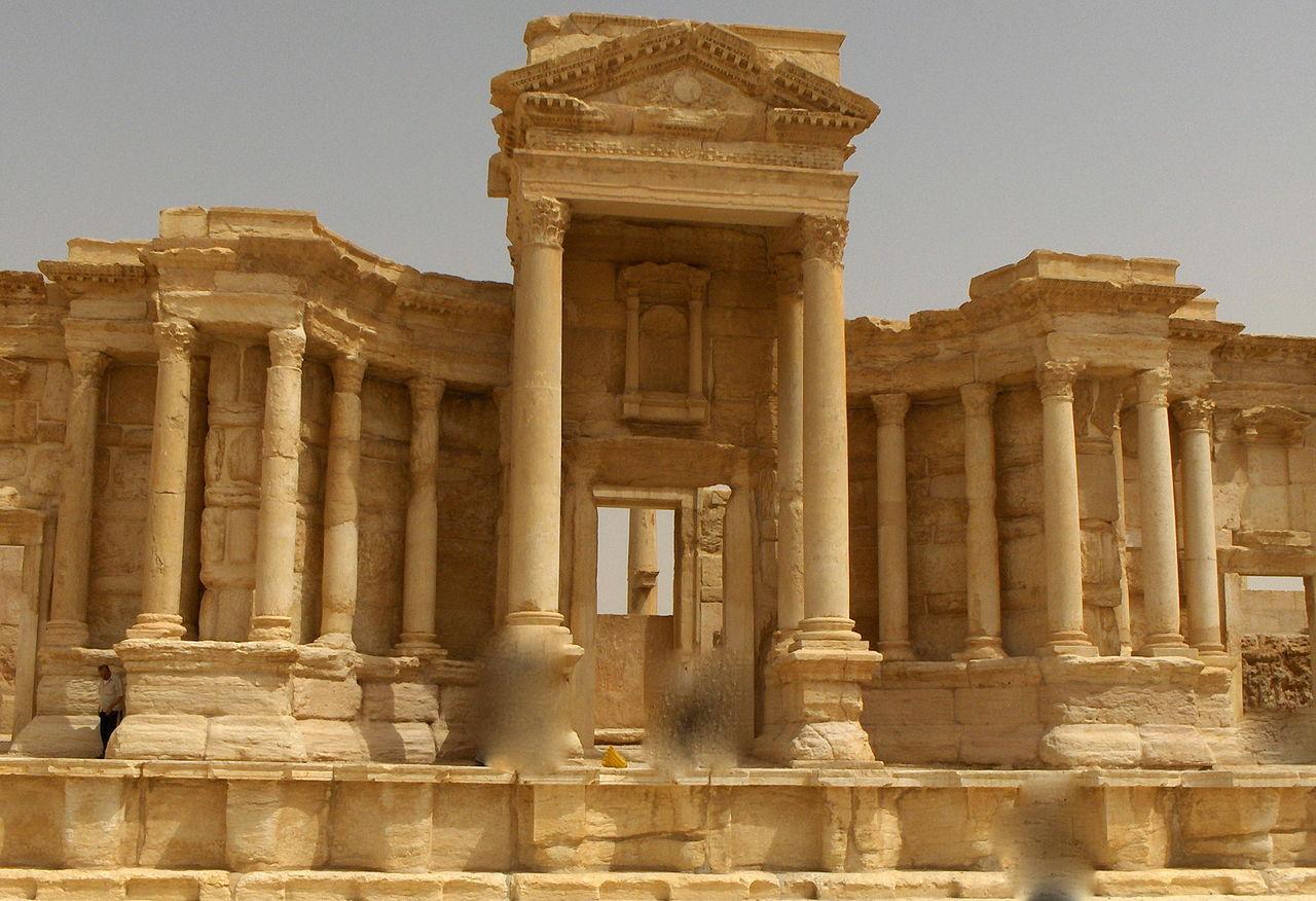FileTeatro romano di Palmira scenajpg  Wikimedia Commons