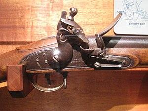 """British """"Brown Bess"""" flintlock muske..."""