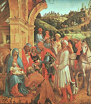 Vincenzo Foppa - The Adoration of the Kings - ...