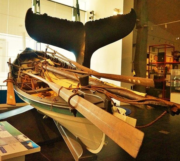 WA Maritime Museum - Joy of Museums - American Whaleboat 'Beetle'