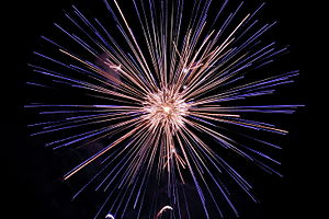 English: Fireworks