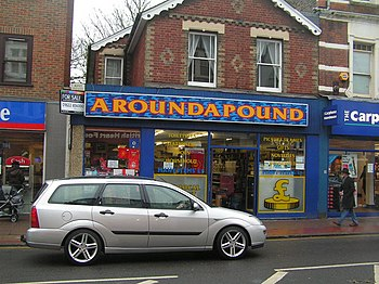 English: Discount store, Tonbridge High St