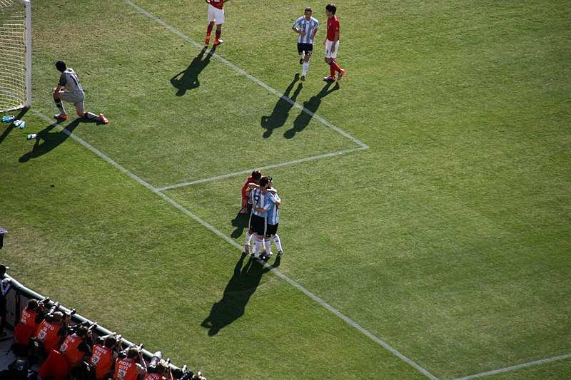File:FIFA World Cup 2010 Argentina South Korea2.jpg
