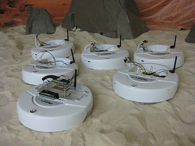 A team of iRobot Create robots