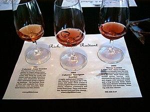 Red ice wines