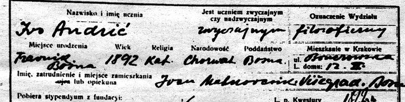 File:Ivo Andric declaring himself as Croat.jpg