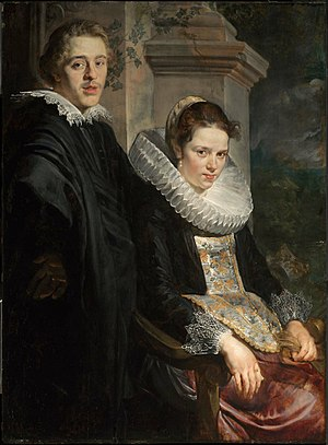 Portrait of a Young Married Couple