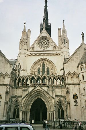 London, Royal Courts of Justice