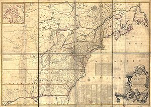 Mitchell Map - A map of the British and French...