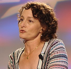 English: Nina Jacobson photographed at 2006 Ou...