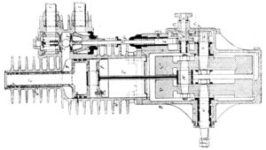 English: Petroleum spirit motor