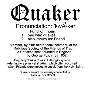 definition of quakers