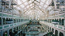 Famoso centro comercial de Stephen's Green, en Dubl�n