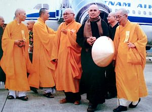Thich Nhat Hanh at Hue City, Vietnam (2007)
