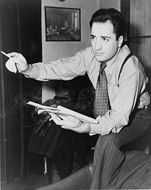 William Saroyan, American writer.