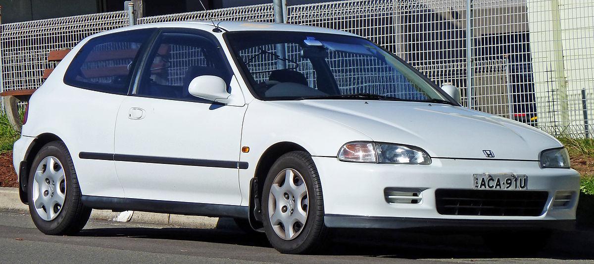 Honda Civic fifth generation  Wikipedia