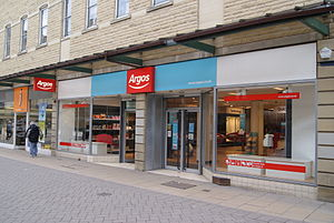 English: Argos, showing the new branding on Vi...