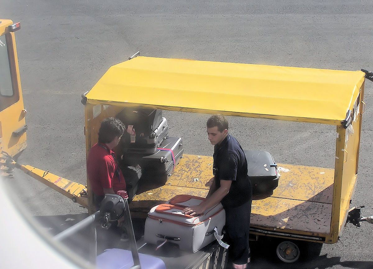 Baggage handling system  Wikipedia