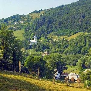 Română: Cărpeniș, județul Alba, sat aparținăto...
