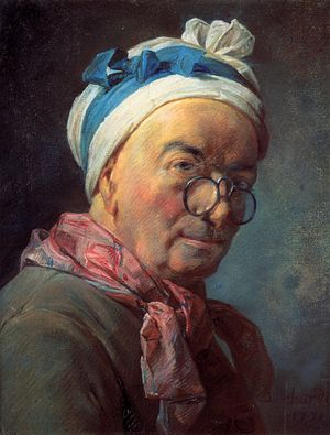 Jean Baptiste Simeon Chardin. Self Portrait in...