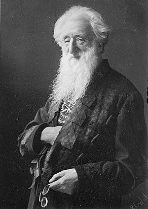 William Booth, a British Methodist preacher, f...