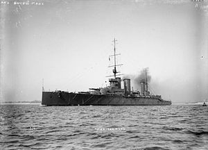 British battlecruiser HMS QUEEN MARY.