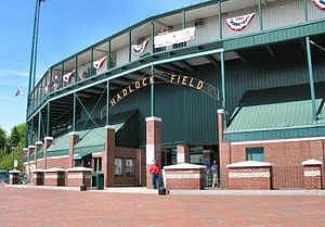 Hadlock Field, Portland ME. May 12, 2007 Photo...