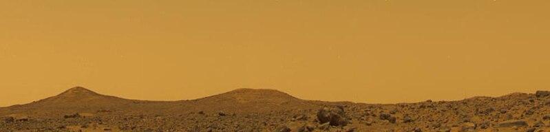 Mars Sky at Noon - Pathfinder image, NASA / JPL