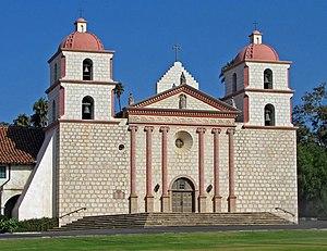 English: Mission Santa Barbara chapel, Santa B...