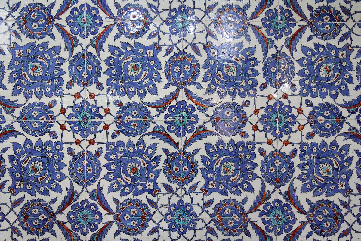 datei rustem pasha mosque tiles jpg
