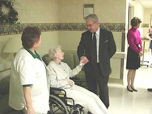 English: Congressman Peterson discusses Medica...