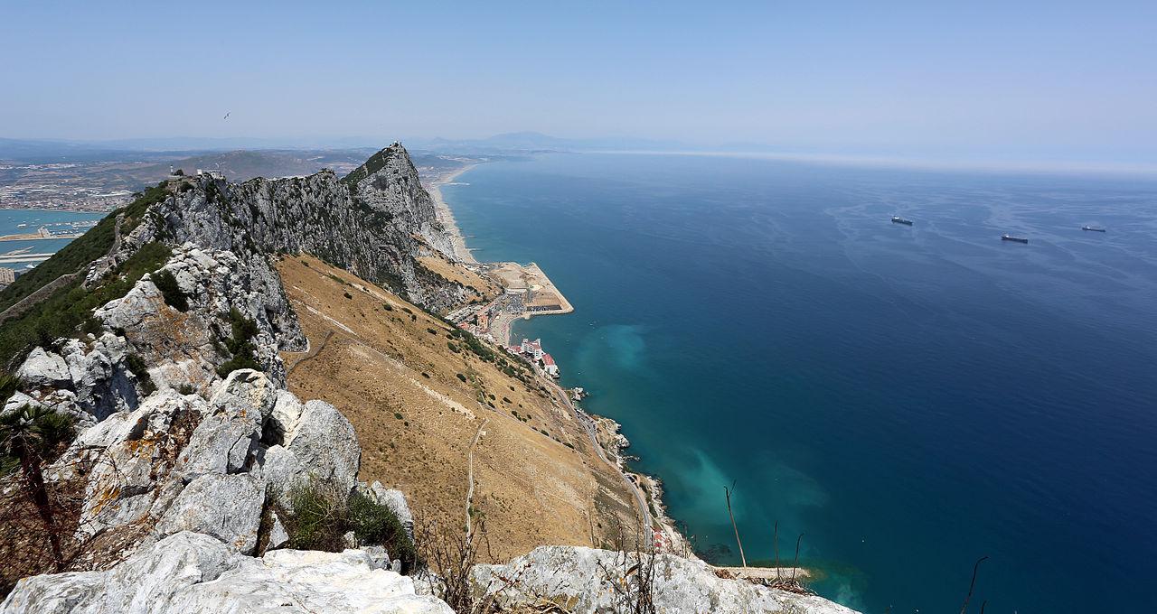 File Rock Of Gibraltar Great Gibraltar Sand Dune And