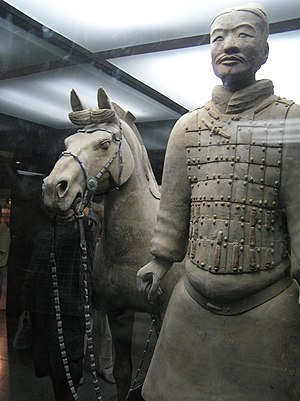 The Terracotta Army sculpture, 3rd century BC,...