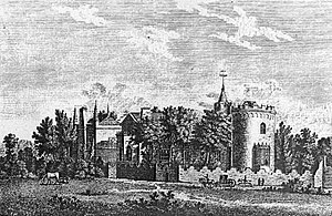 """Strawberry Hill, an English villa in the """"..."""
