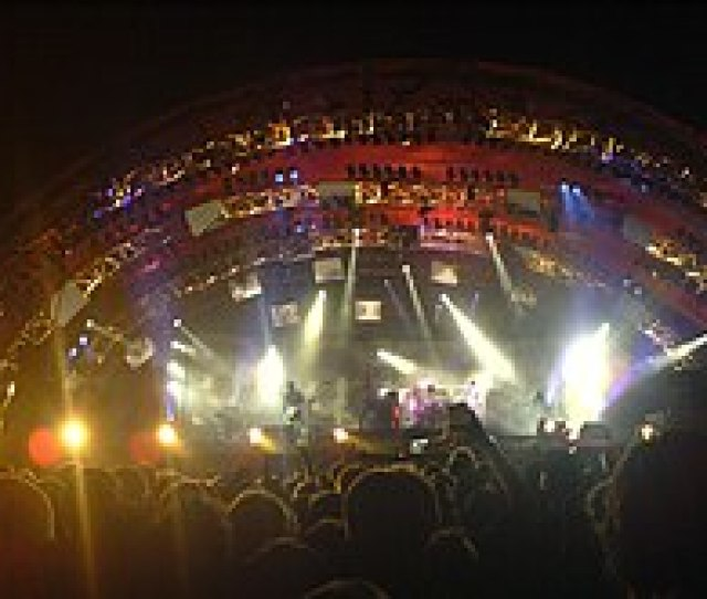 Tool Performing A Headline Slot At The Roskilde Festival As Part Of The 10000 Days Tour