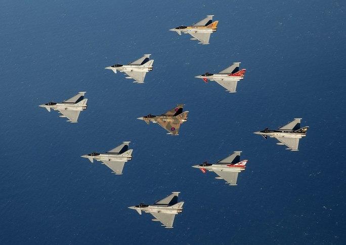 Typhooon force in flight MOD 45160736