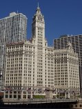 Wrigley Building, the headquarters of the Wrig...