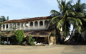 A house from French colonial time (French West...