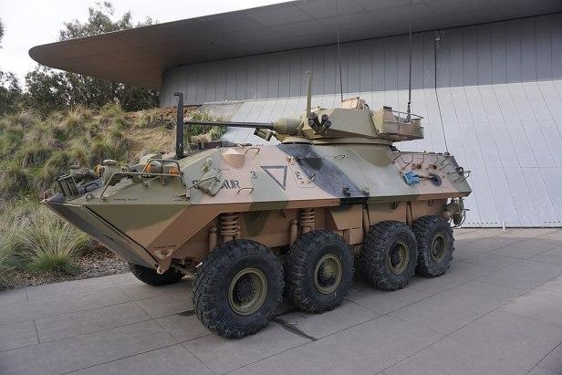 LAV-25 Australian Light Armoured Vehicle