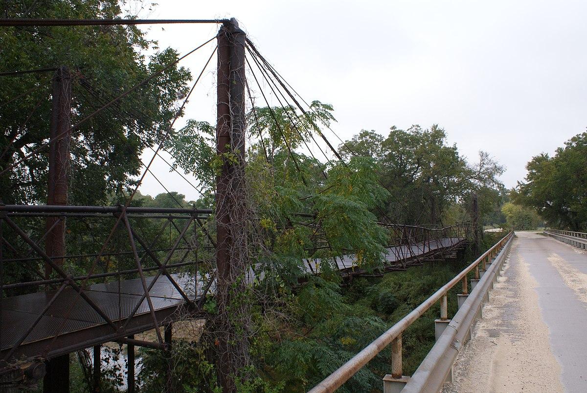 Bluff Dale Suspension Bridge  Wikipedia