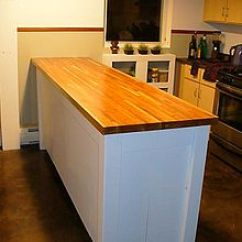 Kitchen Counter Options Trashcans Countertop Wikipedia Butcher Block Top